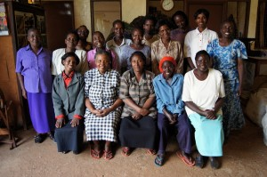 The ladies of Makena Textiles
