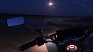 Motorcycle Blue Moon