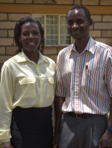 Alfred and Maggie Muthomi