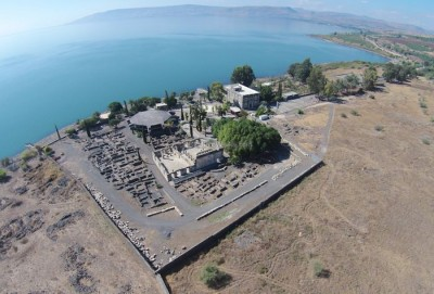 Remnants of Capernaum, at the north end of the Sea of Galilee, where Jesus recruited many of His disciples. (Source: BibleWalks.org)